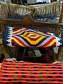 Traditional Loom with Woven Items - Ethnographic Museum - Berat - Albania (28644914898).jpg
