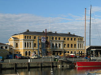 Trondheim Central Station - Modern view of the old section