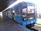 Train of Yerevan Metro 2.JPG
