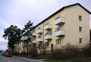 Traneberg - Kinnekullevägen in Traneberg.