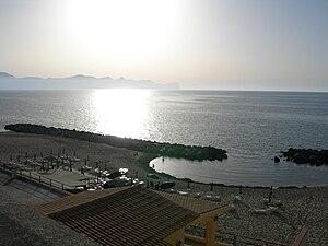 Gulf of Castellammare - Image: Trappeto spiaggia
