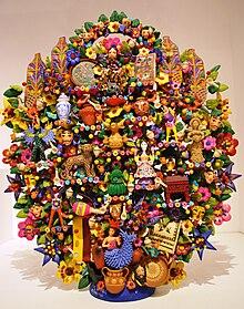 árbol De La Vida Artesanía Wikipedia La Enciclopedia Libre