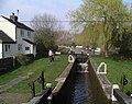 Trent and Mersey Canal Lock - geograph.org.uk - 385326.jpg