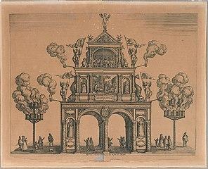 Triomfboog van de Spanjaarden (voorkant)