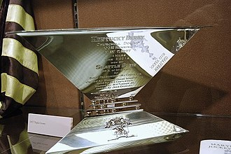 Triple Crown of Thoroughbred Racing (United States) - The Triple Crown trophy