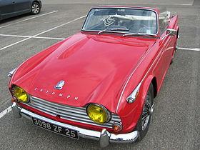 Triumph Tr4 Wikipédia