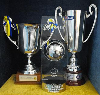 Trentino Volley - First trophies of Trentino Club