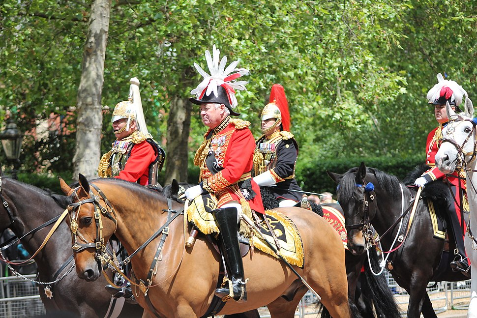 Trooping the Colour, senior offices