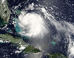 Tropical Storm Katrina on August 24 2005