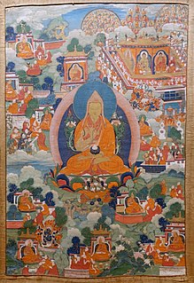 Je Tsongkhapa Tibetan Lama