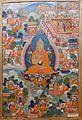 Tsong-kha-pa, 1644-1911 AD, thangka - Sichuan University Museum - Chengdu, China - DSC06193.jpg