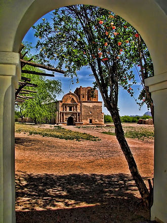 Tumacácori National Historical Park - Mission San José de Tumacácori.