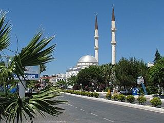 Turgutreis Town in Aegean, Turkey
