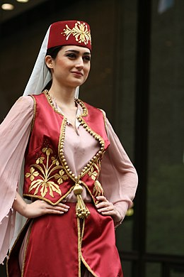 Description de l'image  Turkish woman in Ottoman costume 2.jpg.