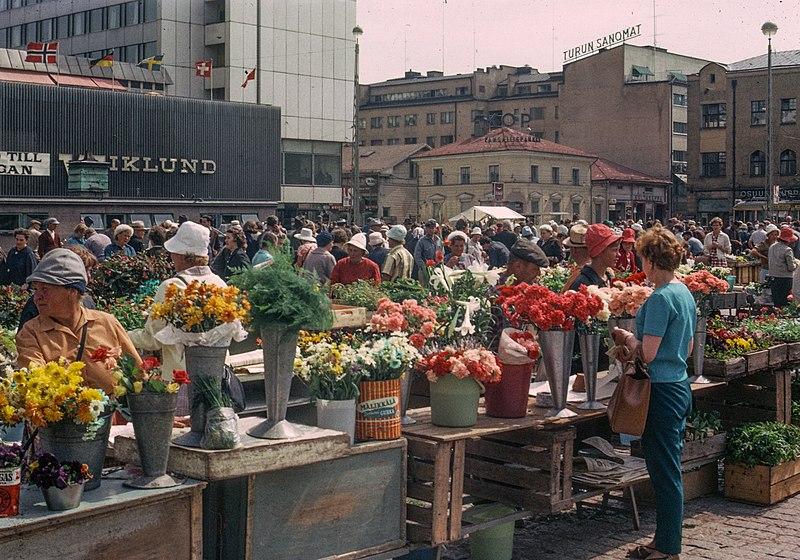 File:Turku Market Square 1965.jpg