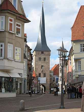 Duderstadt - Old town gate Westerturm