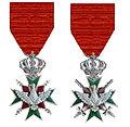 Twee ridderkruisenTweede Klasse Orde van de Witte Valk Saksen-Weimar-Eisenach.jpg
