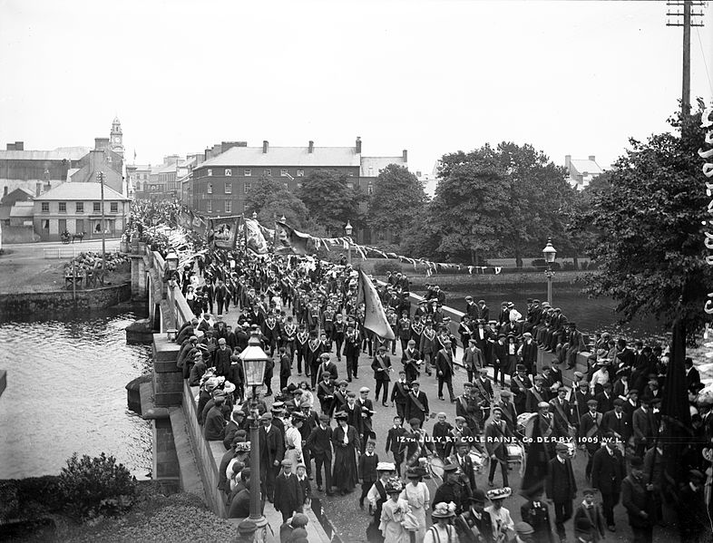 File:Twelfth July at Coleraine, but what year? (7554672672).jpg