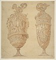 Two Urns Decorated with Human Figures, Animals and Garlands. MET DP811252.jpg