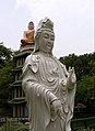 Two statues, Haw Par Villa (Tiger Balm Theme Park), Singapore (41377139).jpg