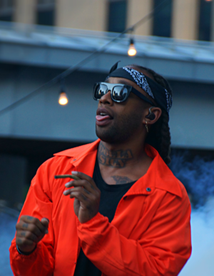 "The Life of Pablo - Ty Dolla Sign is featured on the third single ""Fade"" and promotional single ""Real Friends""."