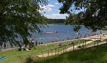 The Swimming Area At Tyler State Park