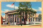 U.S. Post Office, Chambersburg, Pa (79758).jpg