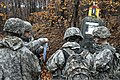 U.S. Soldiers assigned to the 252nd Engineer Company, 103rd Engineer Battalion, 213th Regional Support Group, Pennsylvania Army National Guard check their maps to ensure they reached the correct point during 131108-Z-XV361-013.jpg
