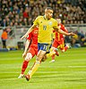 UEFA EURO qualifiers Sweden vs Romaina 20190323 Robin Quaison 3.jpg