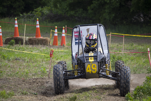 Baja SAE - UMBC Racing Maneuverability run during Kansas 2014 competition