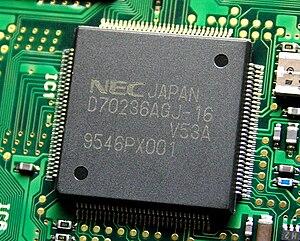 NEC V20 - NEC V53A (µPD70236A)