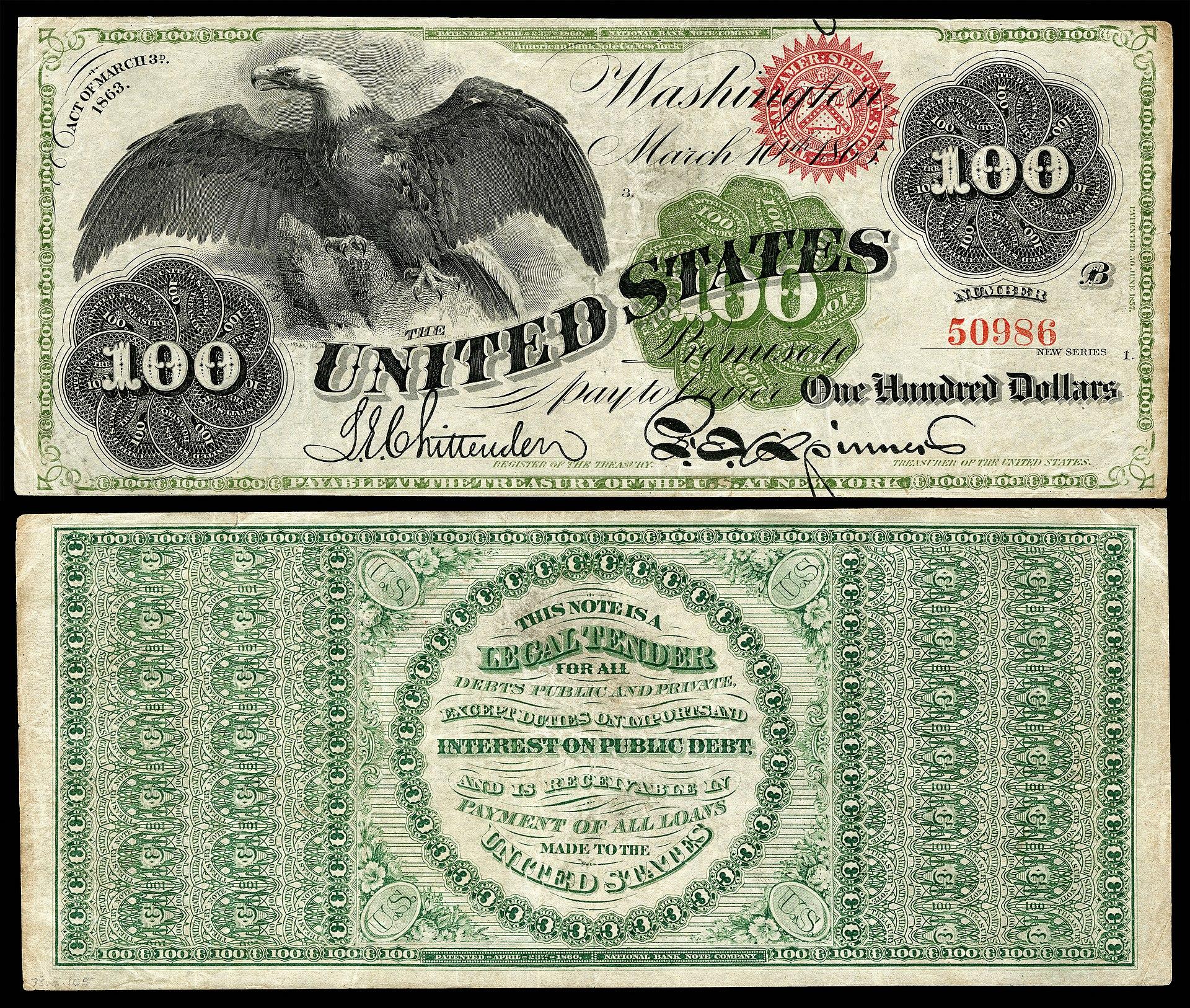 United States one hundred-dollar bill - Wikipedia