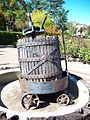 USA-San Jose-Almaden Winery-Wine Press-2.jpg