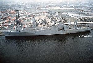 SS Algol (T-AKR-287) - Image: USNS Algol (T AKR 287)