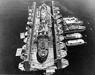 Auxiliary floating drydock Type of United States Navy drydocks
