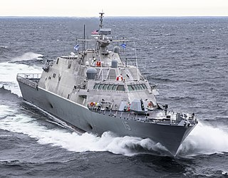 USS <i>Billings</i> Freedom-class littoral combat ship of the US Navy