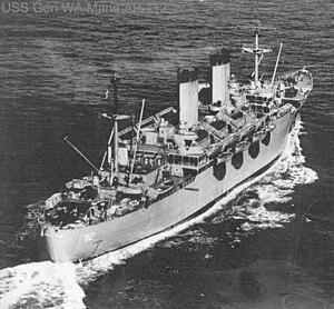 USS General W. A. Mann (AP-112)