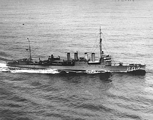 USS Southard (DD-207), underway on 20 April 1932.