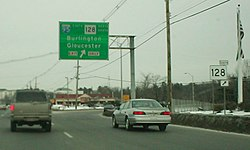 US 1 north at I-95 128 old sign.jpg
