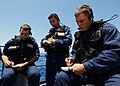 US Navy 040623-N-4374S-006 Sailors assigned to the Visit Board Search and Seizure (VBSS) team aboard the guided missile cruiser USS Vicksburg (CG 69) participate in a brief prior to departing for a Maritime Interception Operati.jpg