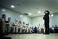 US Navy 061214-N-0696M-310 Chief of Naval Operations (CNO) Adm. Mike Mullen holds an all-hands call with Sailors assigned to Naval Air Station Joint Reserve Base New Orleans.jpg