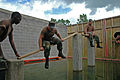 US Navy 080821-N-7367K-005 Seabees assigned to Naval Mobile Construction Battalion (NMCB) 1 attain teambuilding skills during the Leadership Reaction Course at Camp Shelby.jpg