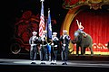 US Navy 100123-N-3436L-002 Members of the Naval Air Station Jacksonville color guard present the colors the the Ringling Bros. and Barnum and Bailey Circus.jpg