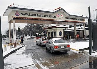 Naval Air Facility Atsugi - NAF Atsugi main gate