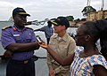 US Navy 100428-N-6138K-746 Nigerian navy Capt. Adejimi Osinowo,.jpg