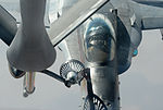 US Navy F-18E Super Hornets supporting operations against ISIL 141004-F-FT438-229.jpg