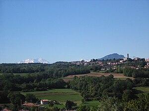 Uggiate-Trevano - Image: Uggiate Panorama