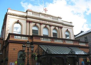 Culture of Northern Ireland - Ulster Hall, a venue for concerts and performance.