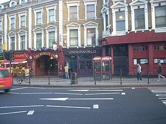 Camden Underworld - The entrance to the Camden Underworld
