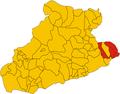 Unione dei comuni del Golfo Dianese-mappa.png